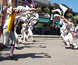 Album of the Maroon Bells Morris Dancers during the Breathless in Berthoud 5th Aniversary Ale